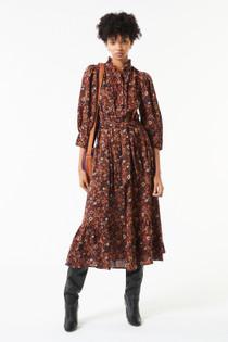 Antik Batik Paoli Long Dress, Camel