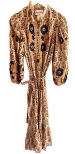 Antik Batik Pauline Long Dress, Camel