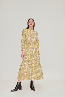Ro's Garden Rio Dress, Tamara Yellow
