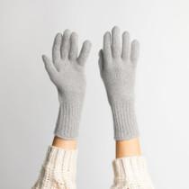 Hat Attack Cashmere Glove, Light Grey