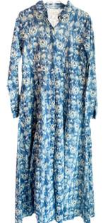 Livro Classic Shirtdress, Blue Blooms