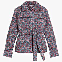 Pink City Prints Percy Coat, Picnic Daisy