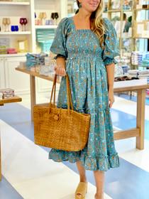 Grace Holiday Frances Dress, Ditsy Poppy Field