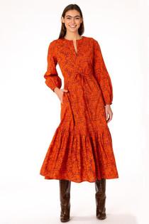 Olivia James Lydia Dress, Harvest Stems