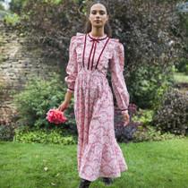 Pink City Prints Margaret Dress, Candy Vine