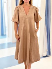 LJC Designs Charlotte Dress, Mocha