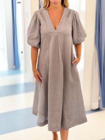 LJC Designs Charlotte Dress, Dark Grey