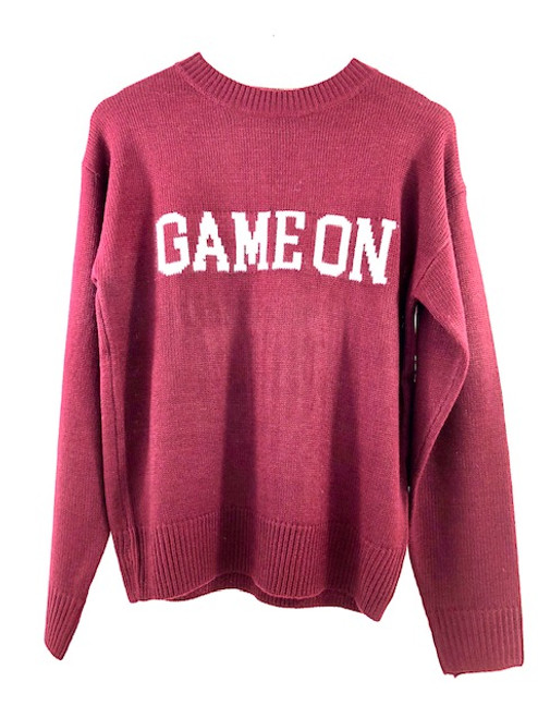 English Factory Game On Sweater