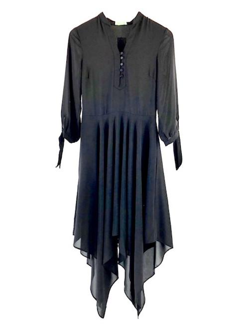 Jade Handkerchief Dress