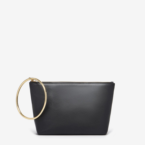 Thacker Large Ring Pouch, Black