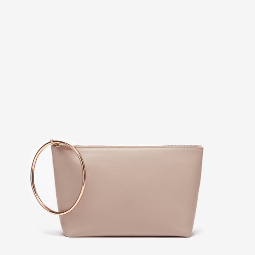 Thacker Large Ring Pouch, Sandstone