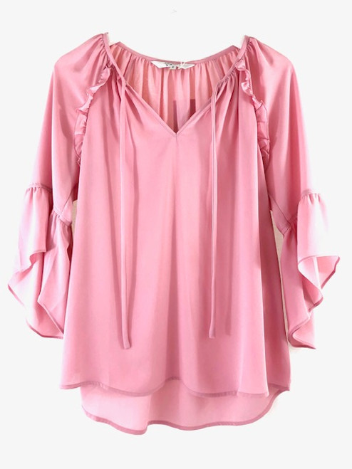 Crosby Joan Top, Poppins Pink