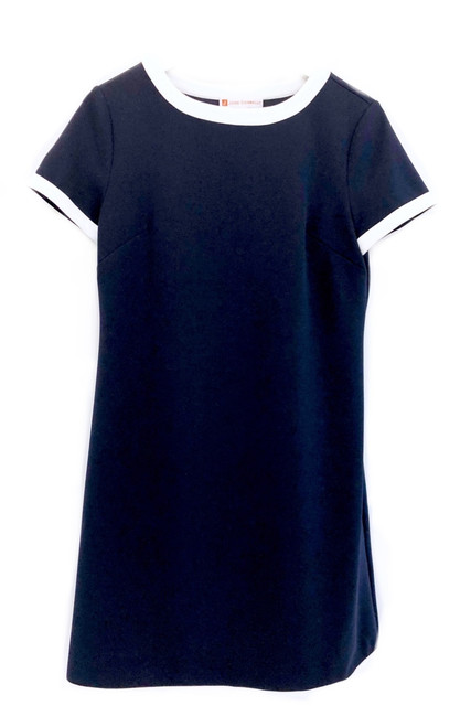 Jude Connally Parker Dress, Navy / Ivory