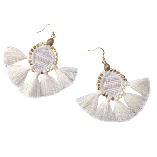 Gaia Odette Sunburst Earrings