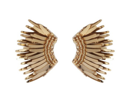Mignonne Gavigan Mini Madeline Earrings - Gold