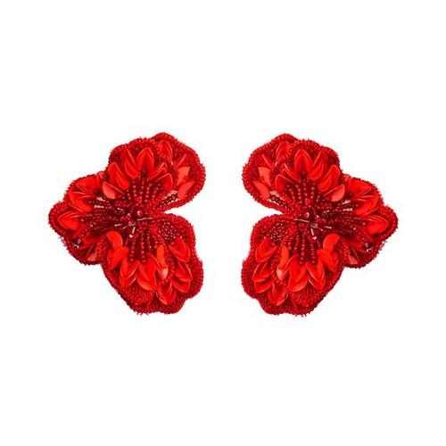 Mignonne Gavigan Sasha Earring, Red