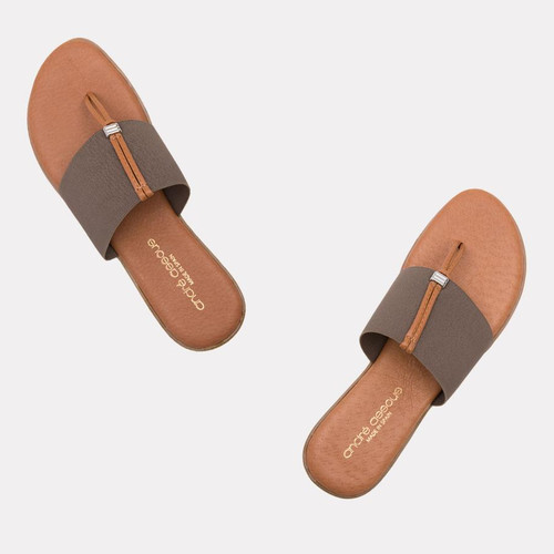 Andre Assous Nice Sandals, Taupe
