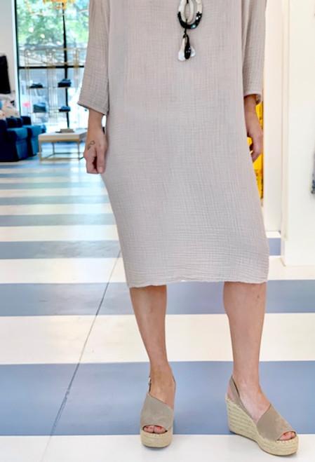 Felicite Off Shoulder Dress, Flint
