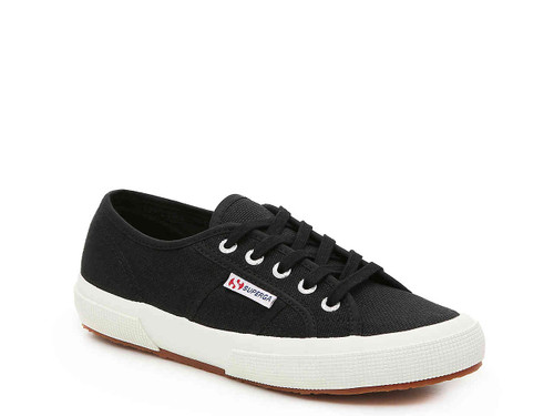 Superga Cotu Canvas Sneaker, Black
