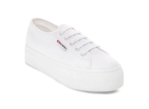 Superga Platform Sneaker, White