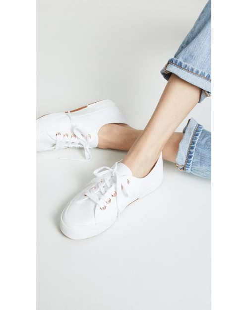 Superga Cotu Canvas Sneaker, White
