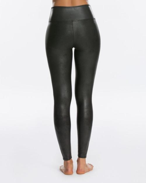 Spanx Faux Leather Leggings, Black