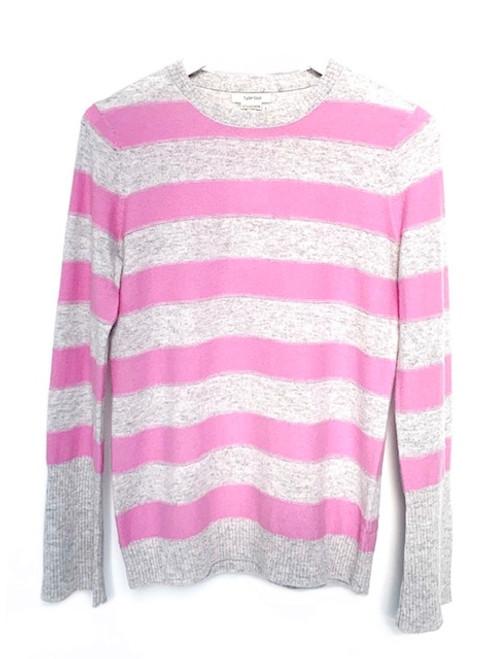 Tyler Boe Stripe Cashmere Sweater