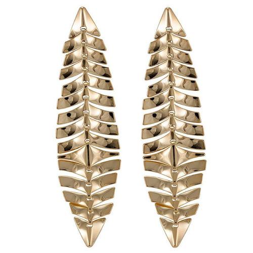 Sheila Fajl Fish Scale Earrings
