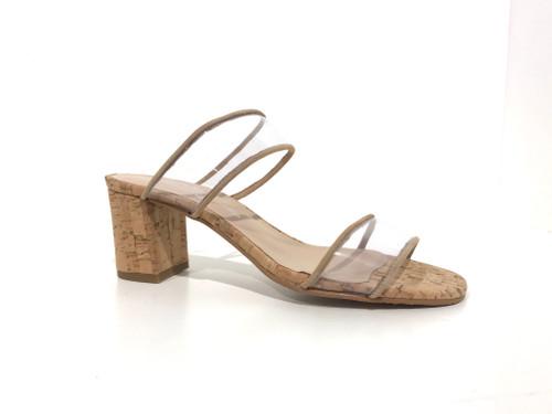 Brenda Zaro Clear Cork Heel
