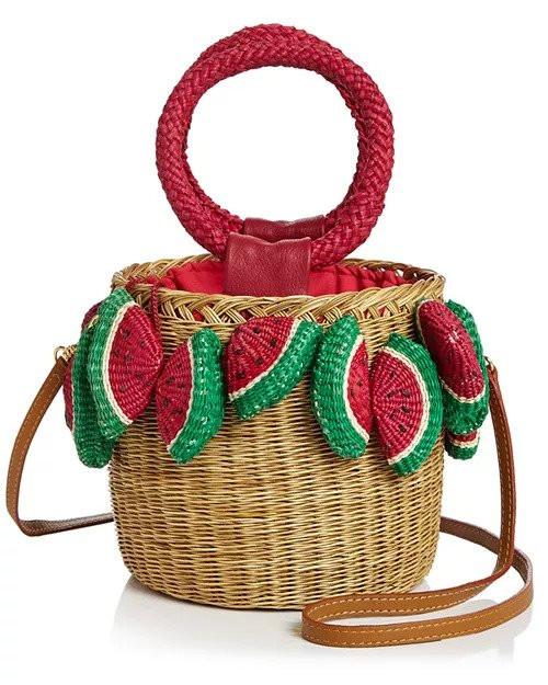 Serpui Lauren Watermelon Bag