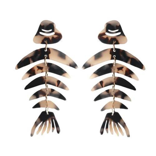 Bonefish Drop Earrings