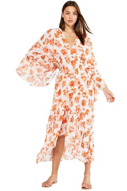 Misa Shadi Dress, Orange