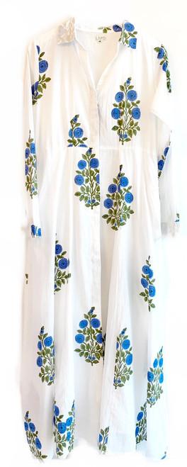 Livro Shirtdress, Blue Poppy