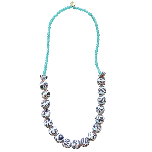 Gaia Beaded Necklace, Chip