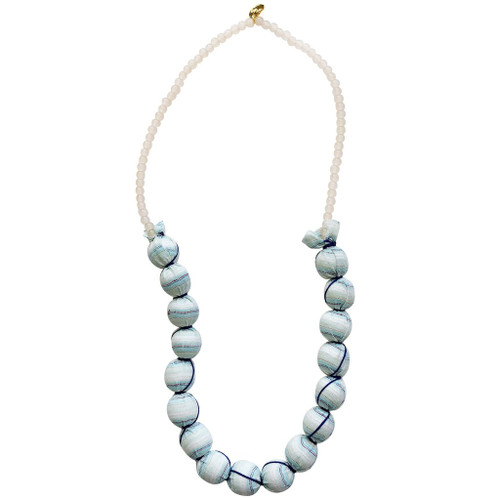 Gaia Beaded Necklace, Dunes