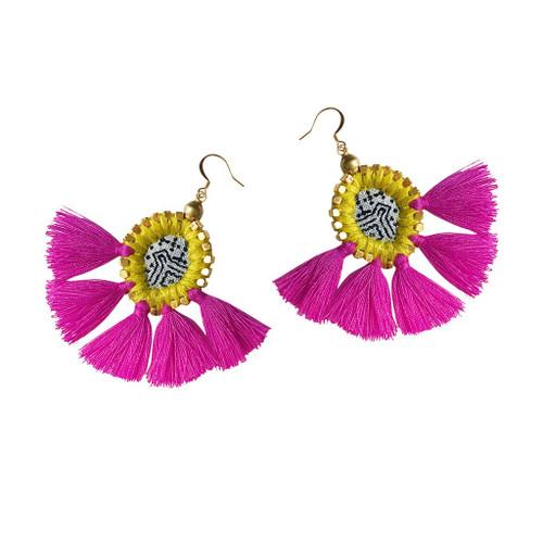 Gaia Kai Sunburst Earrings