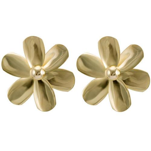 Sheila Fajl Violet Stud Earrings