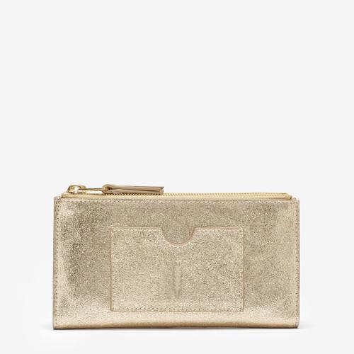 Thacker Nico Wallet, Vintage Gold