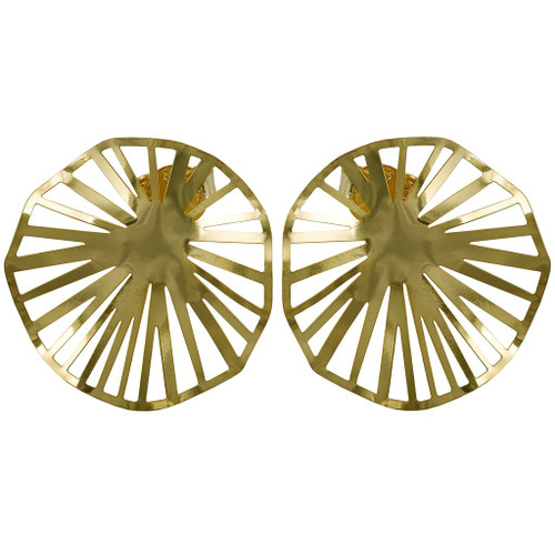 Sheila Fajl Weaved Circle Stud