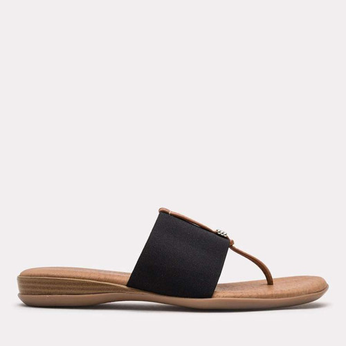 Andre Assous Nice Sandals, Black