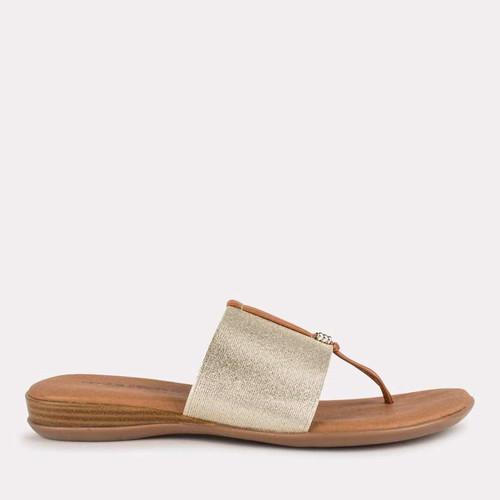 Andre Assous Nice Sandals, Platinum