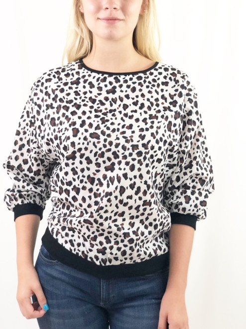 Jade Cheetah Shirt