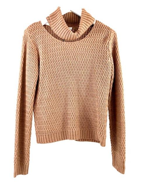 English Factory Ribbed Neckband Sweater