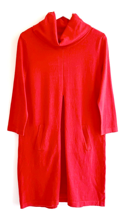 Tyler Boe Kim Sweater Dress, Scarlet
