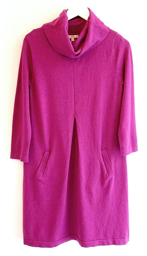 Tyler Boe Kim Sweater Dress, Magenta