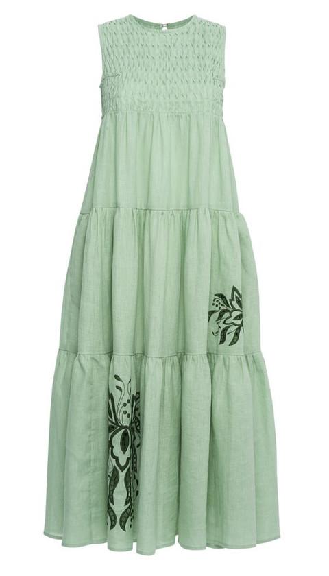 Fanm Mon Simena Dress, Mint Green