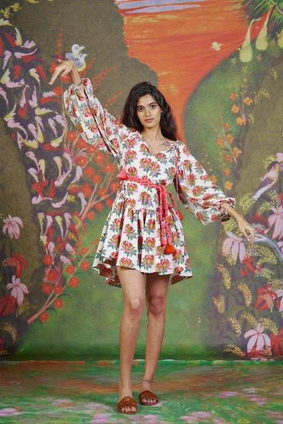 Aish Sasha Dress, Lotus