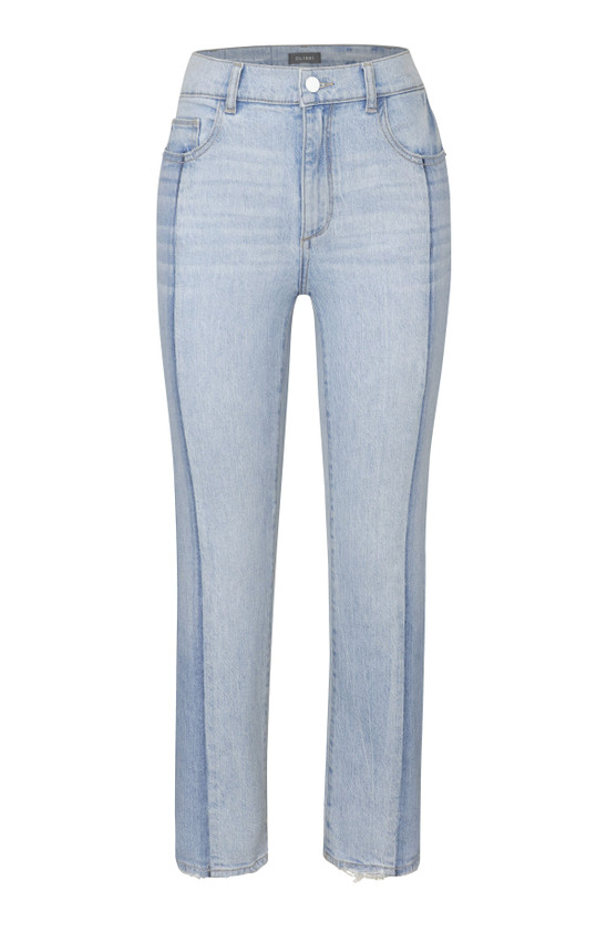 DL1961 Patti Vintage Straight Jean, Powder