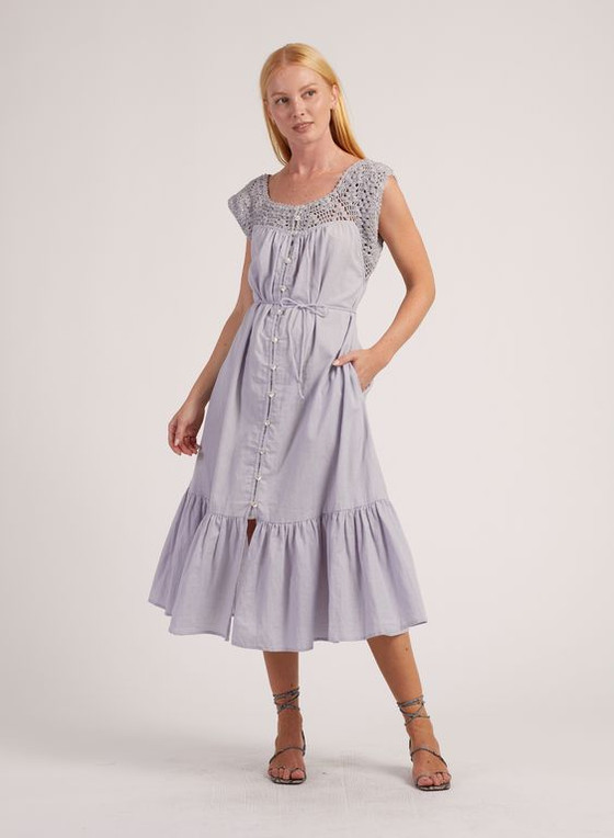 Cleobella Hansel Midi Dress, Lunar