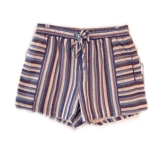 Jade Camden Short, Blue Stripe